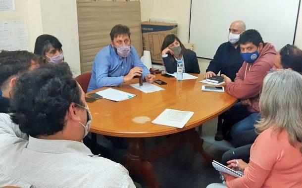Plan 54 viviendas de Mar del Plata: Reunión con autoridades del Instituto de la Vivienda